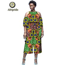 2019 african dashiki tops+print pants 2 piece set for women outfits sashes ankara fabric party wear plus size AFRIPRIDE S1926023