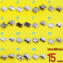 Micro USB jack connector charging Port plug socket 5Pin for Lenovo for Samsung I8910/I9000/I9003...mobile phone tablet pc mid(China)
