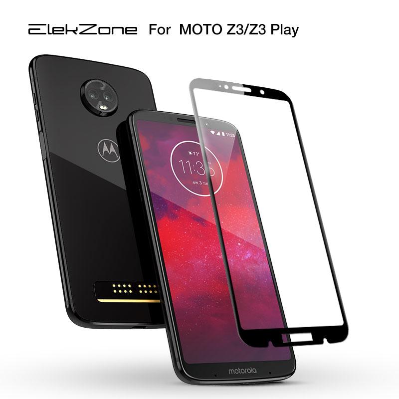 Full Glass For Motorola Moto Z3 Tempered Glass Full Cover For Moto Motorola Z3 Play Screen Protector Front Film Protective Film