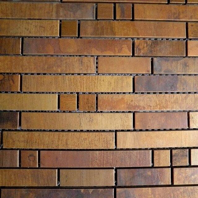 Bronce latón protector contra salpicaduras de metal mosaico mejora ...