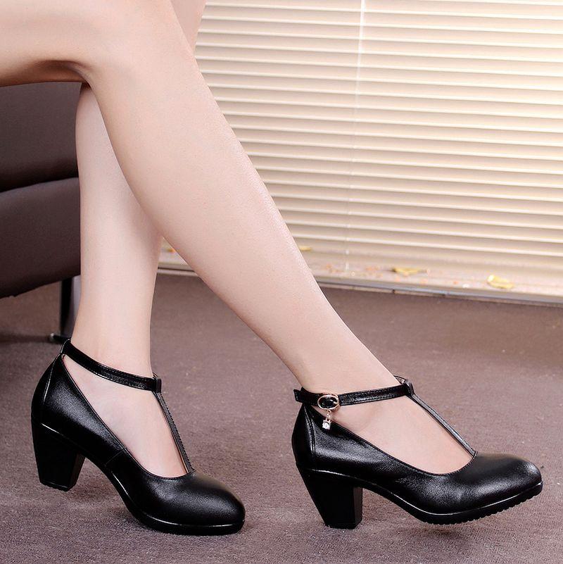 Comfortable Womens Heels - Qu Heel