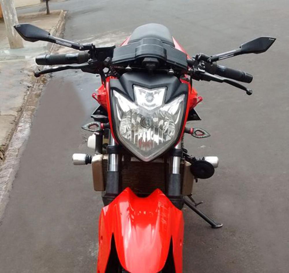 Prix pour Miroir De Moto universelle CNC côté Rétroviseur Pour Suzuki katana Bandit Hayabusa SV650 GSR750 kawasaki z750 KTM Honda BMW Hyosung