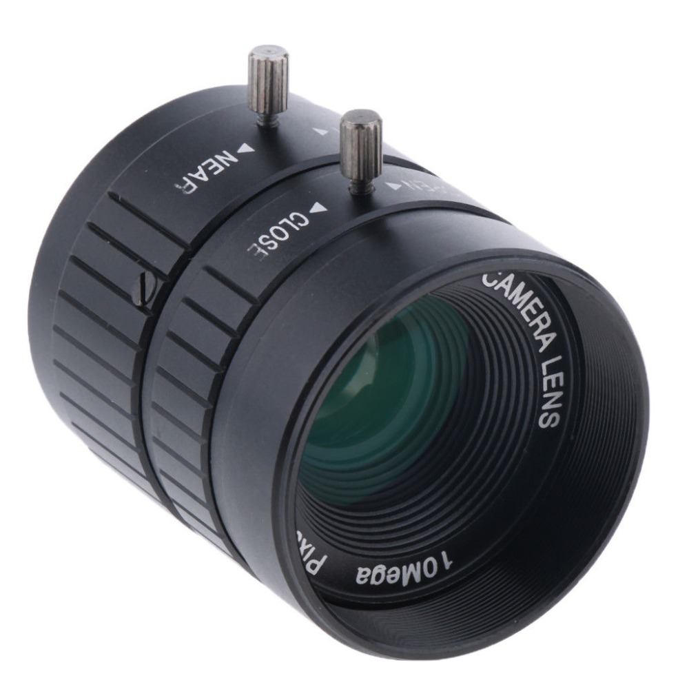 2 3 CS 25mm HD 5MP F1 4 Fixed Focus C Mount Lens for CCTV Security