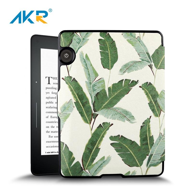 Étui pour tablette pour Amazon Kindle Voyage en cuir PU couverture intelligente Auto réveil/sommeil fonction Shell 2018 livraison gratuite