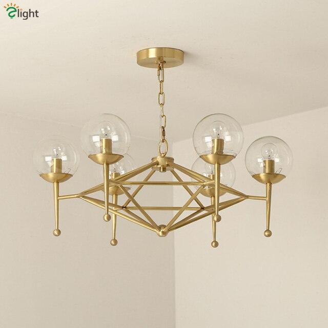 2016 new design modo dna shape copper led chandelier lighting