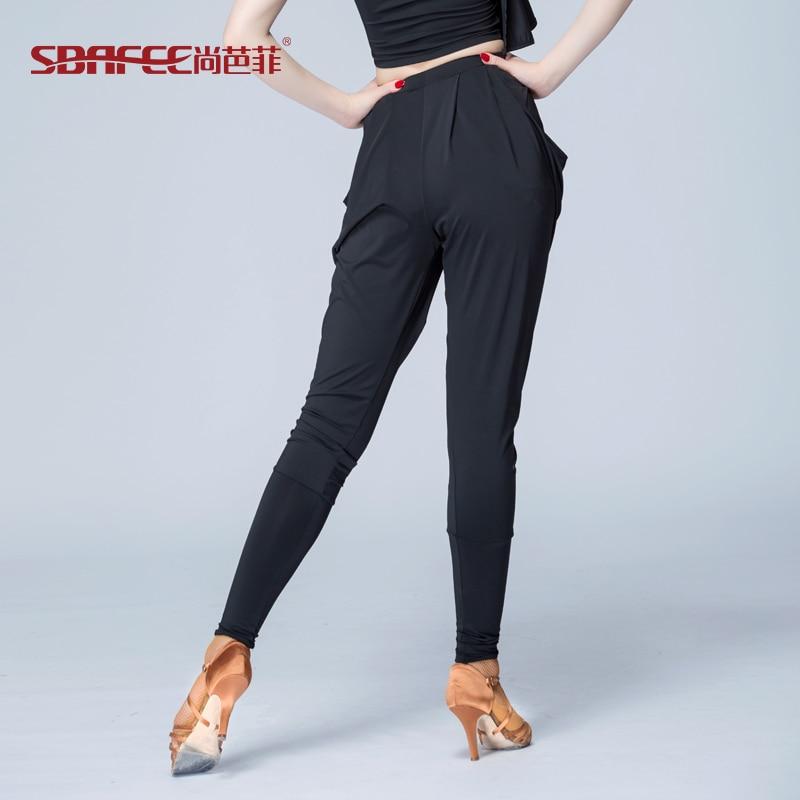 2017 Latin dance pants sexy fashion training trousers for women free shipping 2