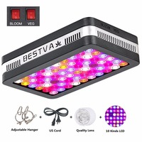 Elite 600W LED Grow Light Full Spectrum fitolampy for Greenhouse Hydroponic Indoor Plants Veg and Bloom replace 400W HPS