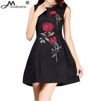 Avodovama M Novas Mulheres Se Vestem Estilo Chinês Elegante Vestido Rosa Bordado vestido de Baile Vestido Curto Vestidos de Festa Vermelho para Mulheres