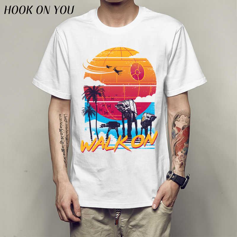 スター戦争不正 1 楽園 Tシャツ 2019 ホット販売男性の服 Tシャツモーダル ATAT Tシャツ camiseta