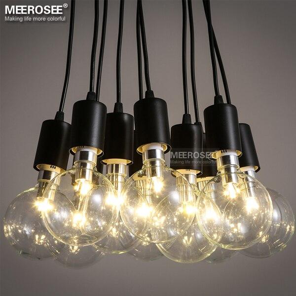 Moderne décoration lustre luminaire américain style métal en plastique suspension lampe fantaisie suspendus lumière vintage lustres dans lampes suspendues