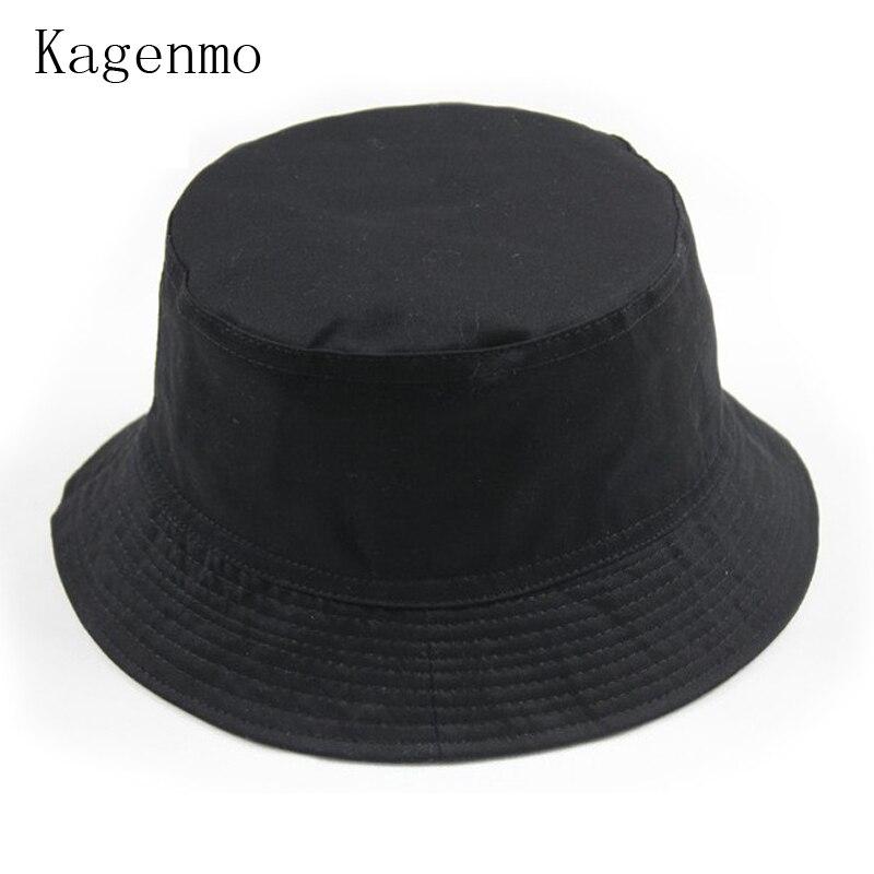 Kagenmo sun hat Fishing Bucket Hats cap cotton sided 1pcs