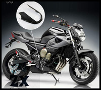 Fairings Lower guide cover fairing For YAMAHA XJ6 2009 2011 Engine Spoiler Real matte black with heat FZ1