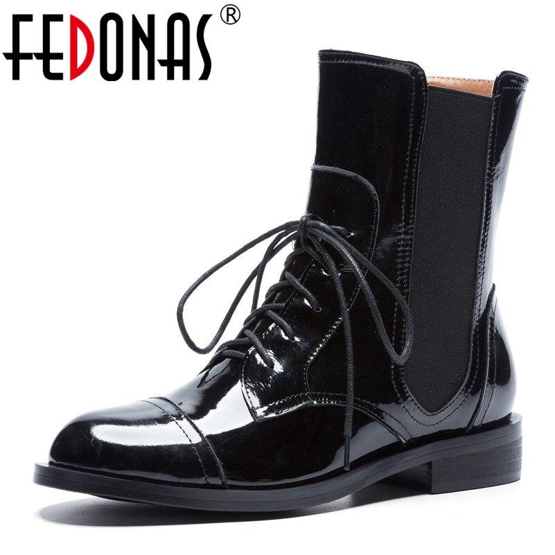 Hiver Chaude Automne Fedonas En Chaussures Femme Pour Talons 2019 JFcTKl1