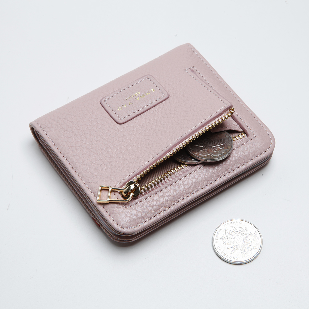 EMMA YAO original läder plånbok kvinnliga kända märkesdesigner - Plånböcker - Foto 5