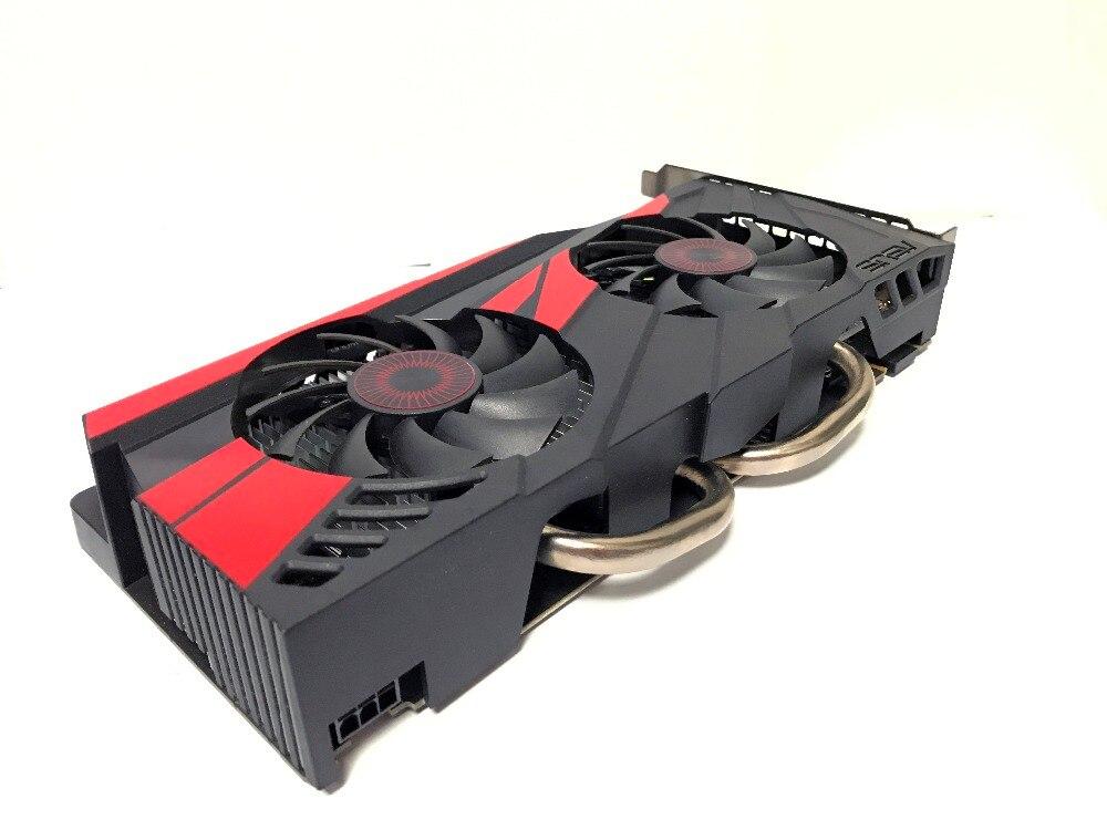 Asus GTX-960-OC-2GB GT960 GTX960 2G D5 DDR5 128 Peu nVIDIA pc de bureau cartes graphiques PCI Express 3.0 ordinateur cartes graphiques - 4