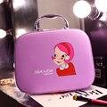 New Korea 2017 PU Multifunction Make up Makeup Organizer bag Cartoon Cute Women Cosmetic bags Ourdoor Travel Bag Handbag Bolsas