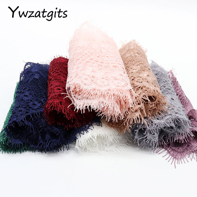 ywzatgits 14 colors  Flower Embroidered Garment lace  Trim Lace  DIY Sewing Dress  3Yards /Lot  YR0503