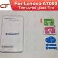 Lenovo k3 note caja del teléfono 100% nuevo original de la pantalla de vidrio templado protector de cine para lenovo k3 note k50-t5 a7000