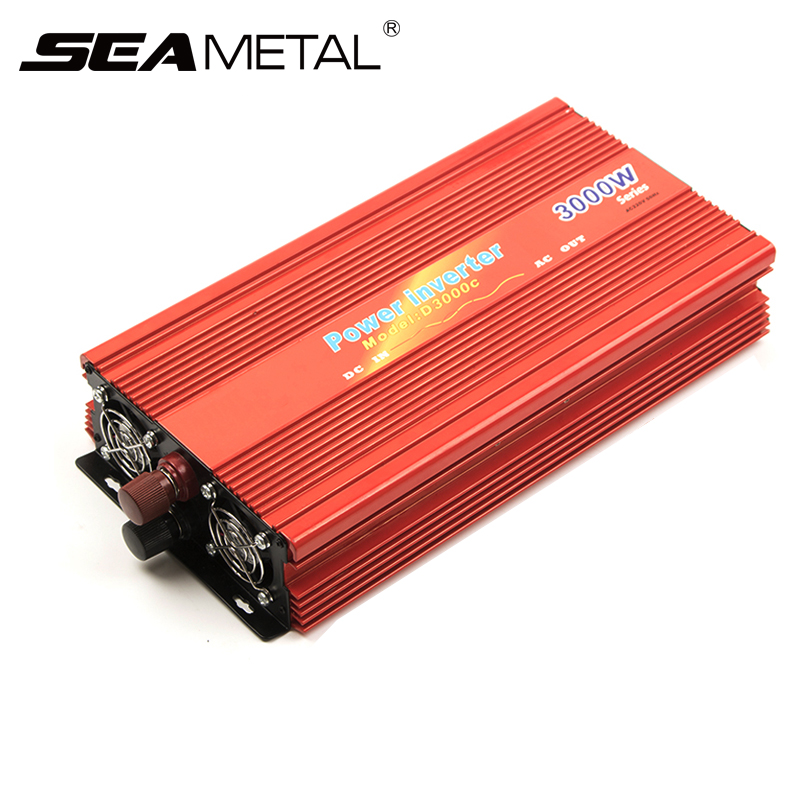 Car <font><b>Inverter</b></font> 12V 220V 4000W 2000W Power Modified Sine Wave Charger on Auto Supply Converter <font><b>Inverter</b></font> 12 <font><b>220</b></font> Transformer Adapter image