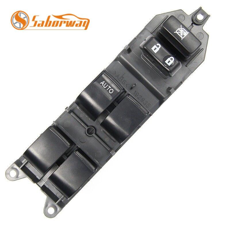 Saborway LHD RAV4 Esquerda Motorista Side Interruptor Da Janela de Poder Mestre Para Camry Corolla Yaris Scion 84820-06100 84820- 06090