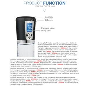 Image 4 - Electric Penis Pump,Strong USB Rechargeable Automatic Penis Enlargement Vacuum Pump,Erection Penis Enlarger,Penis Extender