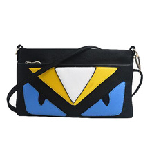2016 Fashion Mini Bags Women Messenger Bags Eye Monster Bags Handbags Women Famous Brands Designer Handbags Small Bag Female