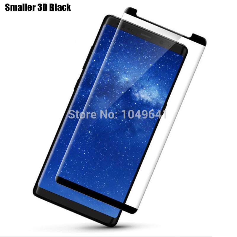 3D Curved Tempered Glass for Samsung Galaxy Note 8 Note8 Screen Protector Full Screen Cover Explosion proof Front LCD Film in Phone Screen Protectors from Cellphones Telecommunications