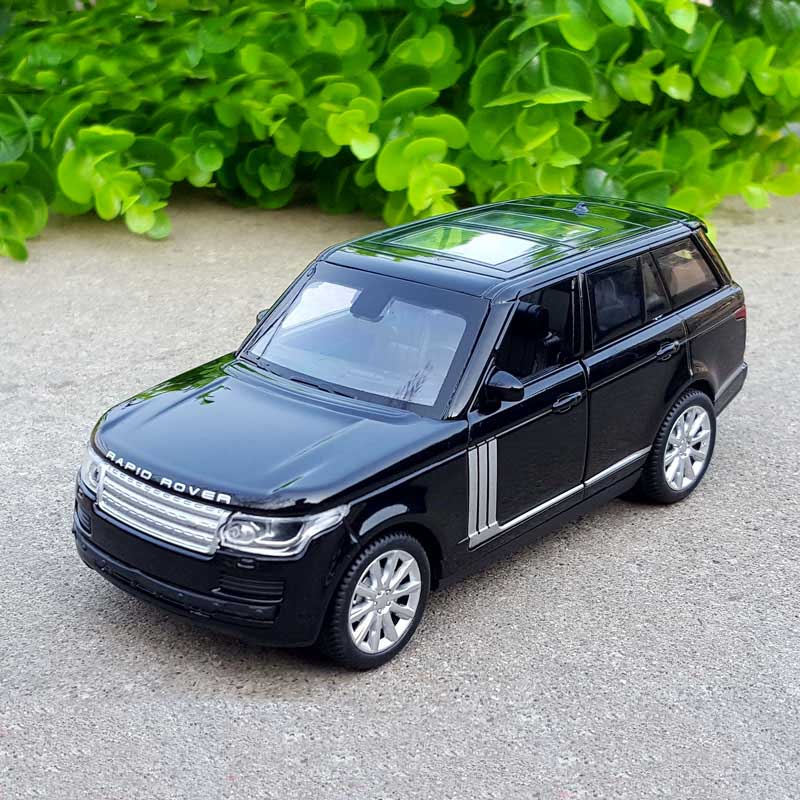 1/32 Diecasts & Toy Vehicles Range Rover Car Model With Sound&Light Collection Car Toys For Boy Children Gift Brinquedos