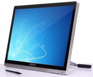 "Image 4 - Bosto ארטיסטה 22U מיני גרפיקה Tablet צג לצייר אמנות ציור צג לצייר כפפת (קידום בארה""ב בלבד)"