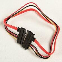 30cm 7 + 15 Pin Serial ATA SATA Daten Power Combo Verlängerung Kabel Stecker Conterver Festplatte Anschluss Draht