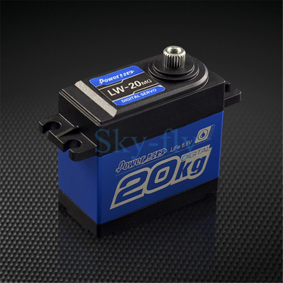 Power HD LW-20MG Waterproof Digital High Torque Servo For RC Cars Airplane 2017 newest nitroobd2 benzine cars chip tuning box nitro obd2 more power more torque for benzine cars obdii plug page 9