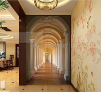 186art Large murals3D can be custom-made furniture decorative wallpaper high-end fashion wall stickers home decor Chinese style