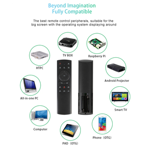 Image 5 - G20S 2.4G Wireless Fly Air Mouse with Microphone gyroscope Voice search IR learning remote control for smart android tv box X96