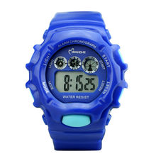 Chaxigo LED Military Children Men Brand Kids Watches Dive 30m Digital Fashion Casual Electronics Wristwatches Hot Clock Boy