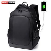 MAGIC UNION Laptop Backpack for Men Women Travel Bagpack Waterproof Mochila Hombre Women USB Charging Backpacks School Bag