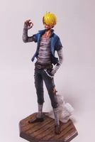 23cm One Piece Sanji Anime Collectible Action Figure PVC toys for christmas gift free shipping