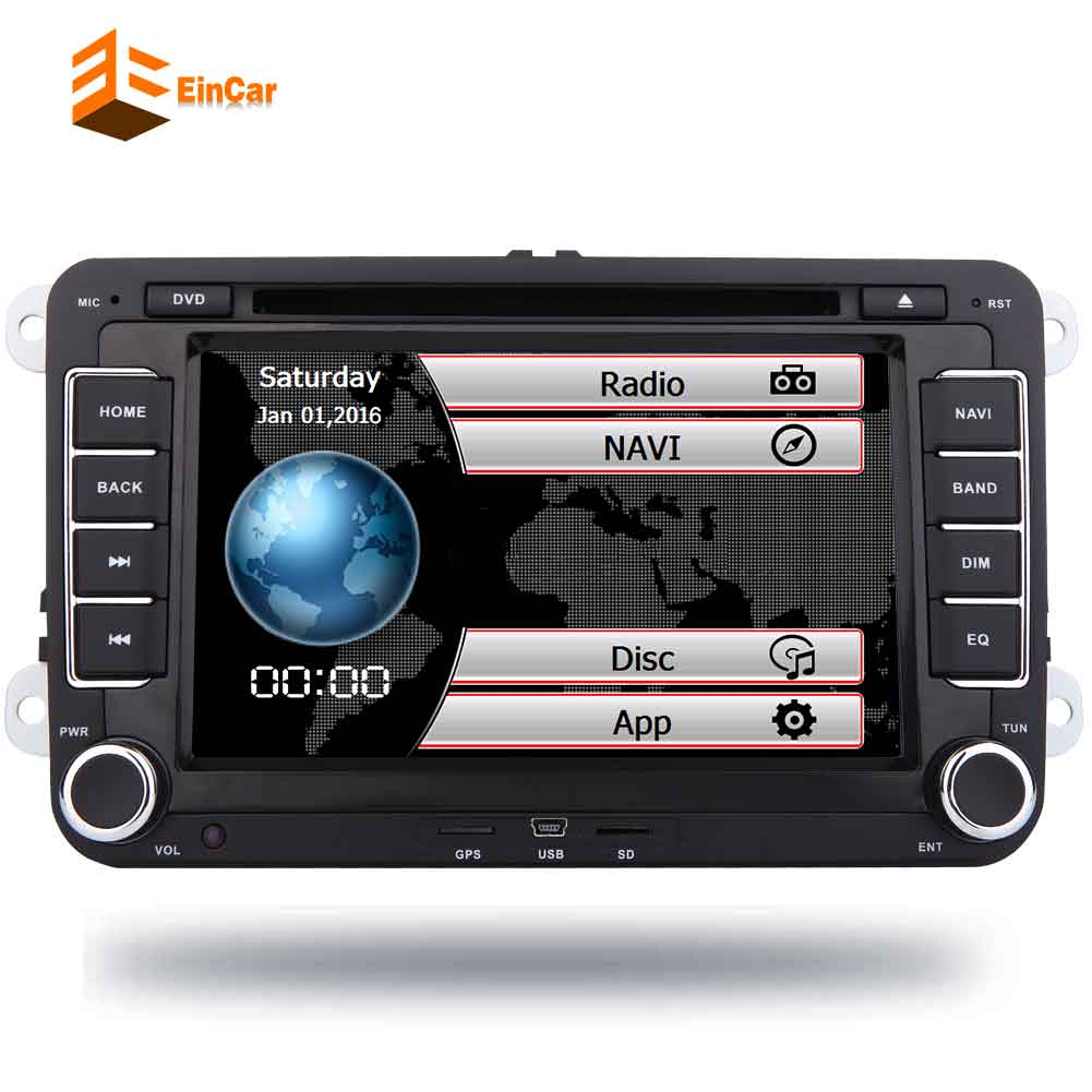 2 Din 7 Inch Car DVD Player For VW/Volkswagen/Passat/POLO/GOLF/Skoda/Seat/Leon With GPS Navigaiton IPOD FM RDS Maps Radio Stereo