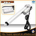 Electric linear actator 12V DC 200MM stroke,8mm/s speed with the length of 1500mm wire.
