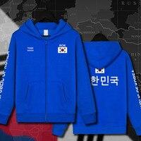Republic of Korea South KOR Korean KR Daehan Minguk mens Hoodies Sweatshirts hoodie jackets men streetwear hooded tracksuit 2017