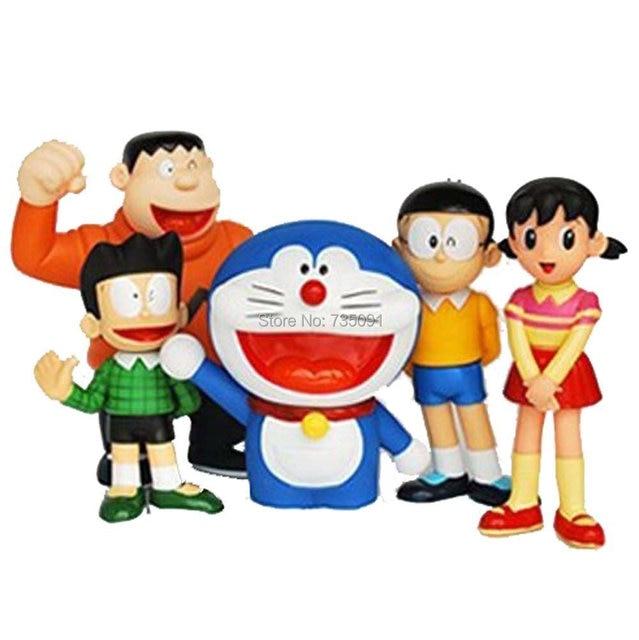 lujex doraemon and nobita nobi action figure toy figurine doraemon