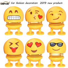 car accessories car decoration Car Ornaments creative cute doll shaking head decoration gift jewelry spring shaking head doll недорого