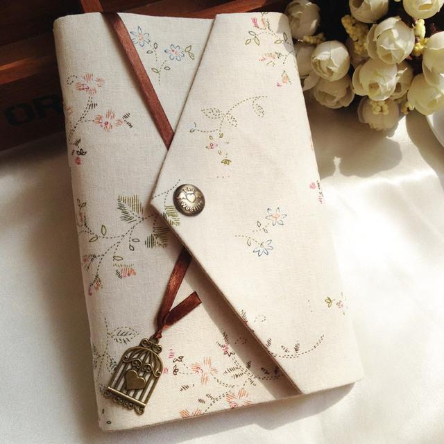 Kawaii papelería artesanal flor serie cuaderno espiral Lindo organizador de agenda/planificador semanal/viajes nota del cojín de nota/diario A5 A6