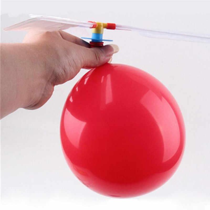 10 шт./партия забавные традиционные классические звуковые Воздушные шары вертолет дети играть летающие игрушки мяч на открытом воздухе детские спортивные забавные игрушки
