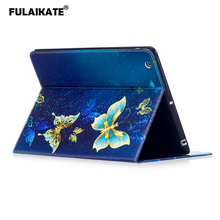 FULAIKATE Cartoon Flip Case for iPad 4 Stand Color TPU Soft Back Cover for iPad 2 3 Card Slot Business Tablet Protective Cases
