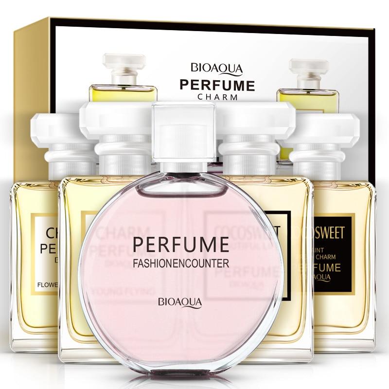 5Pcs/Lot BIOAQUA Romantic Charming Perfume