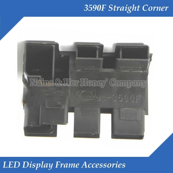 3590F Straight Corner LED Display Frame Accessories