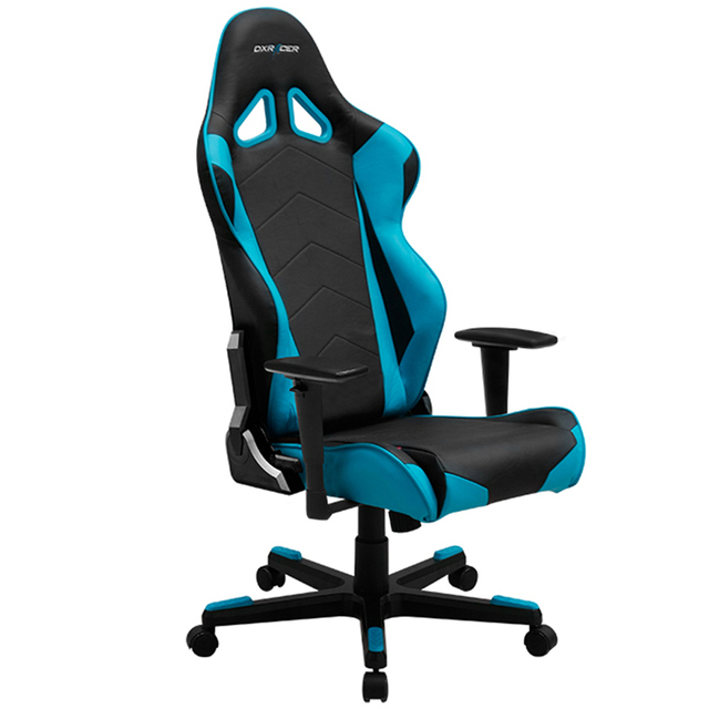 Superieur DXRacer OH/RE0/NB High Back Racing Office Chair Video Rocker Gaming Chair