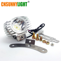 Led Motorcycle Headlight 15W 1800LM Car Fog DRL Headlamp Spotlight Hunting Driving Light High Bright External