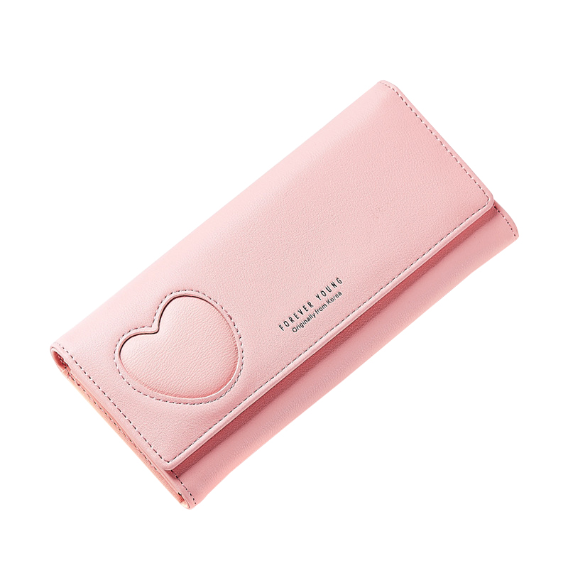 Women Fashion PU Leather wallet Long Envelope Purse Casual Pouch Card Slot Cash Holder Female Cluth Wallet