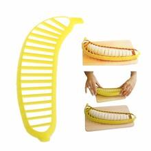 Banana Slicer Cutter Chopper Fruit Salad Peeler Kitchen Tool Cucumber Vegetable Kitchen Tools New XQ Drop shipping